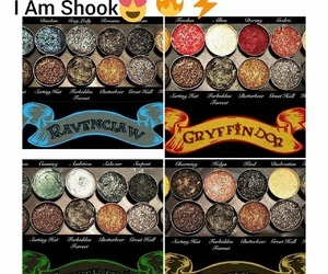 eye shadow, harry potter, and makeup image