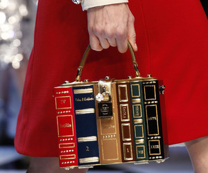 bag, book, and Dolce & Gabbana image
