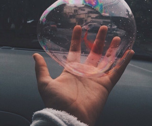 bubbles, tumblr, and grunge image