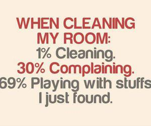 funny, true, and cleaning image