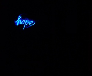 blue and hope image