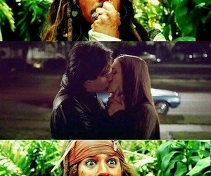 delena, the vampire diaries, and jack sparrow image
