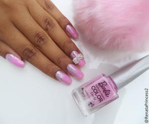 barbie, beauty, and nail polish image