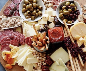 cheese, food, and dinner image