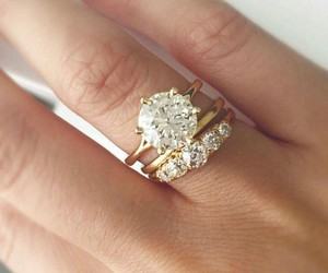 wedding, jewelry, and rings image