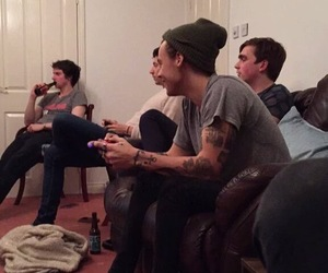 styles, friends, and harry image