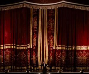circus, curtains, and moulin rouge image