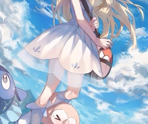 background, girl, and lillie image