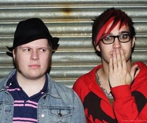 FOB, patrick stump, and pete wentz image
