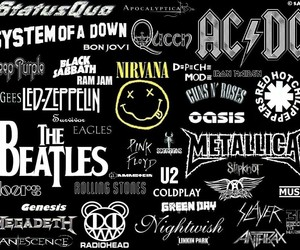bands, nirvana, and ACDC image