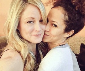 cast, lesbians, and teri polo image