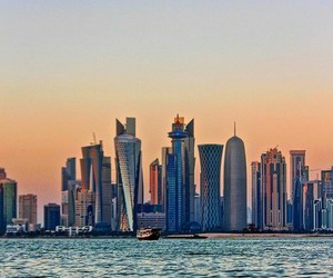 awesome, doha, and place image