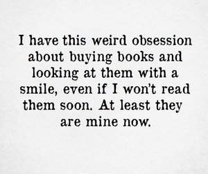 books, obsession, and weirdo image