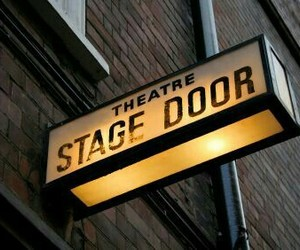 theatre and stage door image