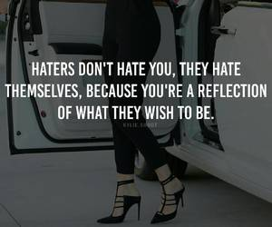 haters, quote, and kylie jenner image