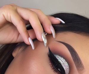 beautiful, goals, and makeup image