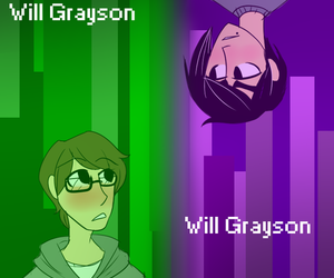 book, john green, and will grayson image