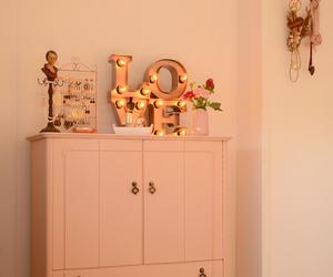 decoration, interior, and lamp image