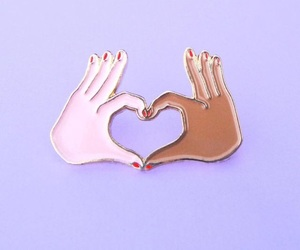 equality, pins, and purple image