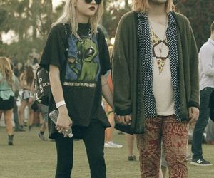 grunge, couple, and style image