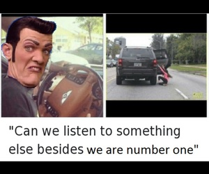 funny, meme, and lazy town image