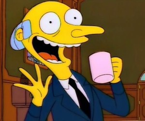 simpsons, the simpsons, and mr burns image