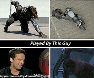 Avengers, sebastian stan, and winter soldier image