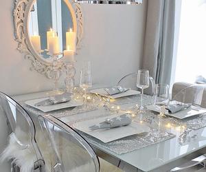 decor, luxury, and white image