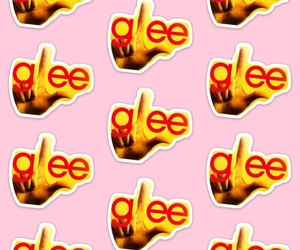 glee, L, and pattern image