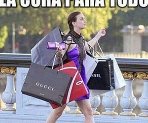 girls, goals, and shopping image