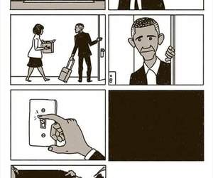 obama, sad, and barack obama image