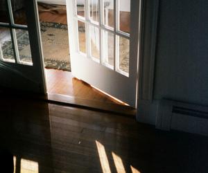 door, light, and indie image