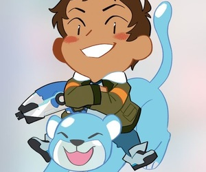 fan art, lance, and Voltron image