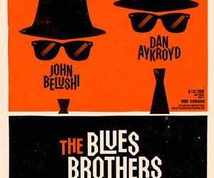 movie, poster, and the blues brothers image