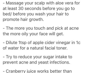 tips and tricks, beauty tips, and hoe tips image