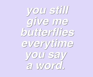quotes, words, and purple image