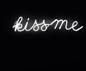 kiss, love, and kiss me image