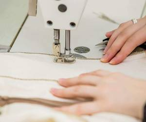 atelier, machine, and sewing image