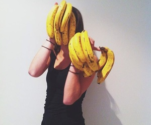 bananas, fitness, and happy image