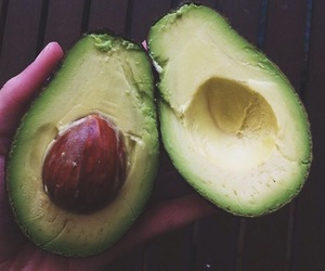 avocado, eat, and food image