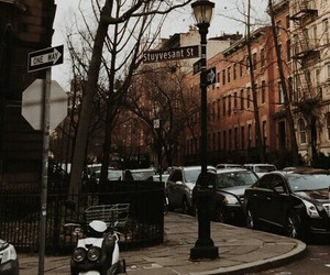 brown, city, and theme image