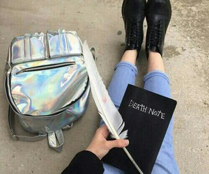 death note, grunge, and black image