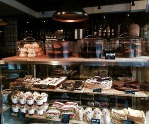 aesthetic, bakery, and dark brown image