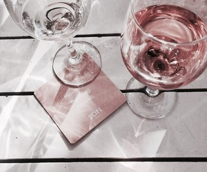 drink, pink, and rose gold image