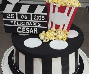cake, cakes, and cine image
