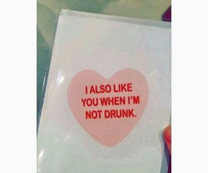 alcohol, drunk, and hearts image