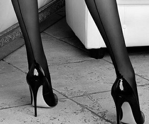 sexy, high heels, and legs image