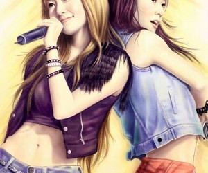 fanart, kpop, and snsd image