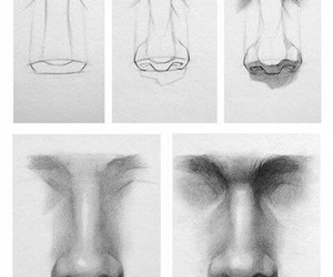 draw and nose image