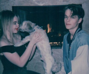 sabrina carpenter and corey fogelmanis image